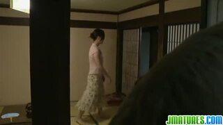 【妖艶熟女】四十路人妻が義父と濃厚ご奉仕SEX♪